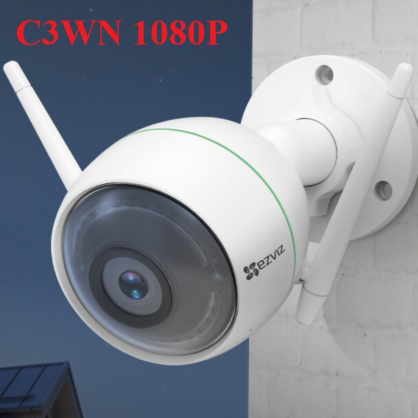 Trọn bộ Kit Camera IP EZVIZ CS-C6N-A0-1C2WFR 2MP 4 Camera, đầu ghi 4 kênh - Hàng chính hãng