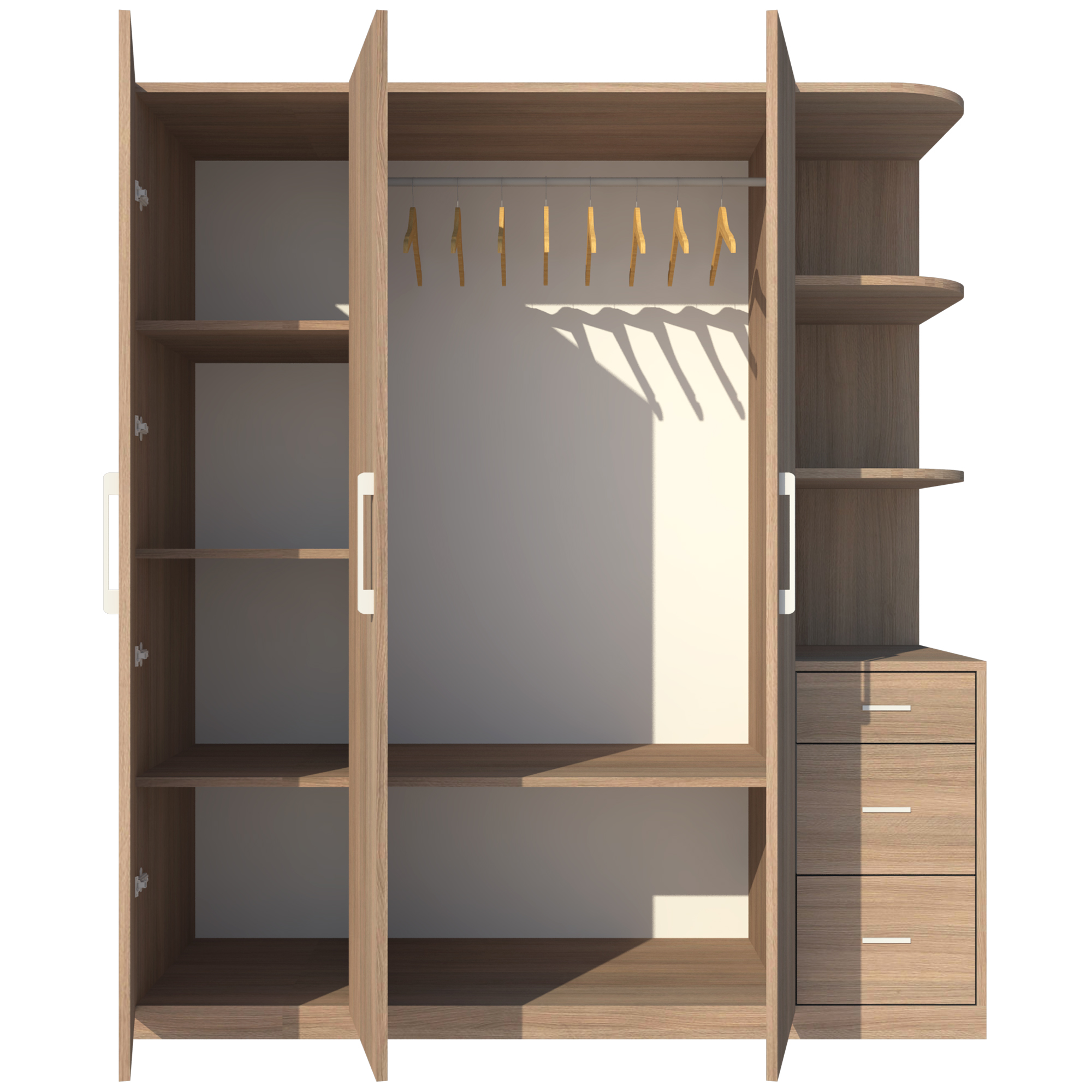 Tủ Áo FINE FT058 (180cm x 200cm)