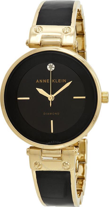 Đồng hồ thời trang nữ Anne Klein  1414BKGB Diamond Ceramic