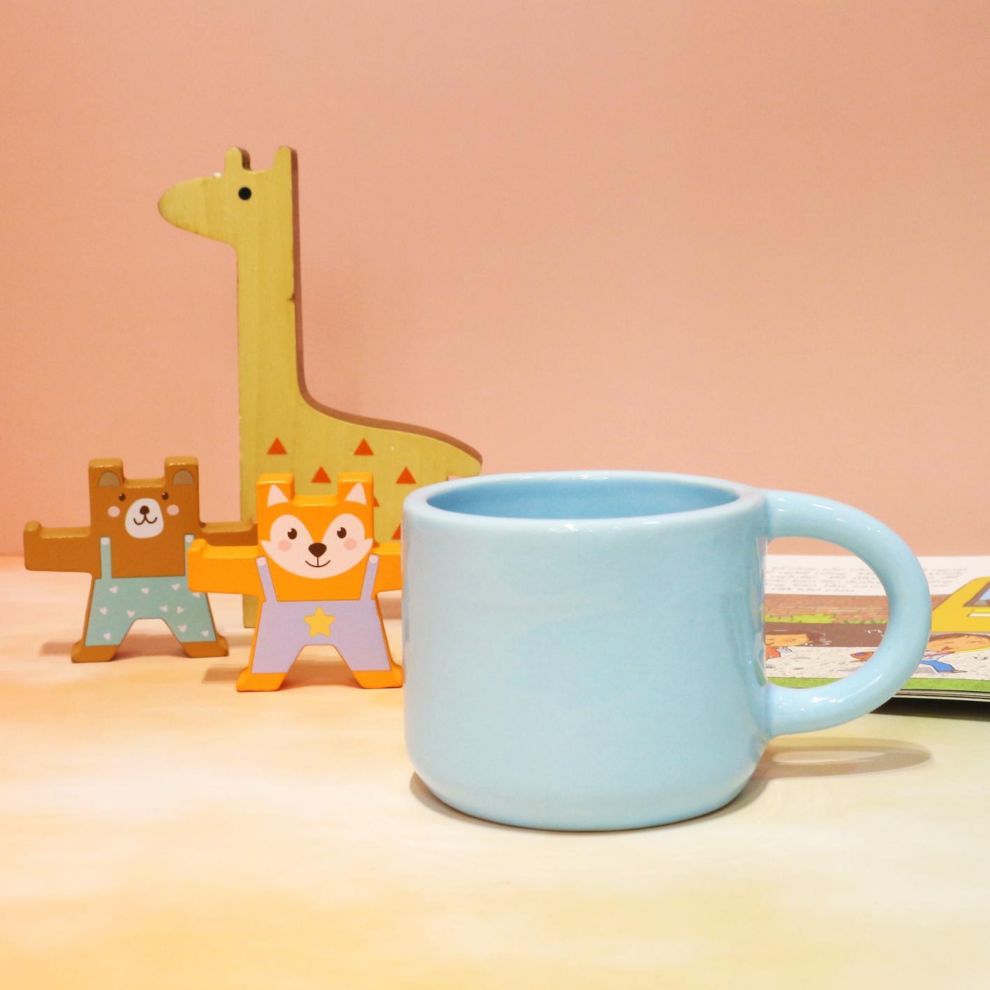 Ly gốm / Cốc gốm thủ công màu pastel có quai - Pastel ceramic cup
