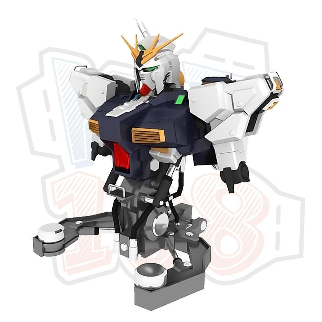 Mô hình giấy Robot RX-93 v Gundam Bust