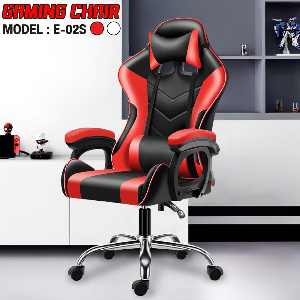 Ghế chơi game cao cấp dành cho game thủ BG model mới E-02S RED (hàng nhập khẩu)