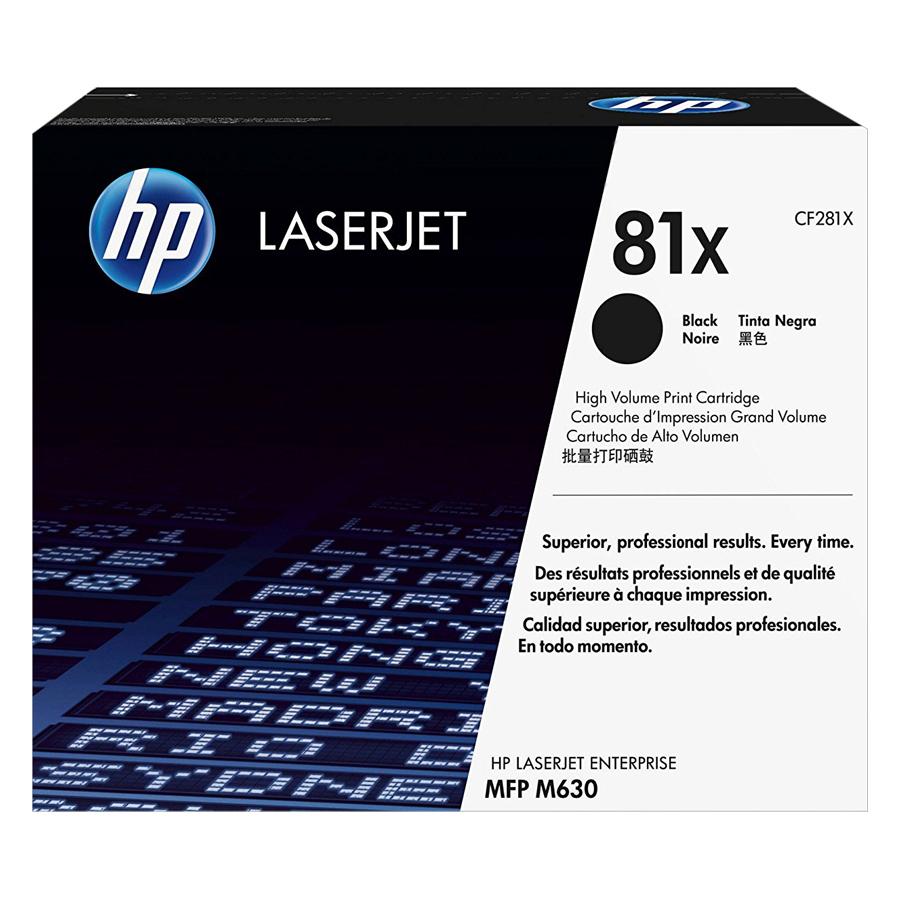 Mực In HP CF281X (HP 81X) Cho Máy In HPM630f, HP M630h, HP M606x, HP M606dn, HP M605x, HP M605n, HP M630z, HPM630dn, HP M605dh, HP M605dn - Hàng Chính Hãng