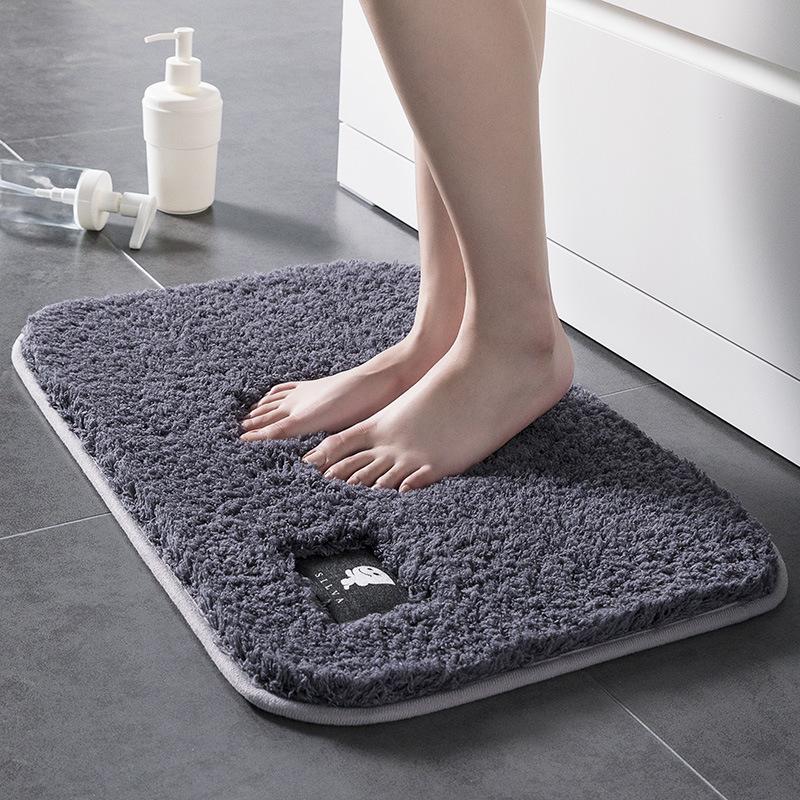 Thảm lông nhà tắm thấm nước tốt chống trơn trượt lông mềm mại [40 x 60CM]