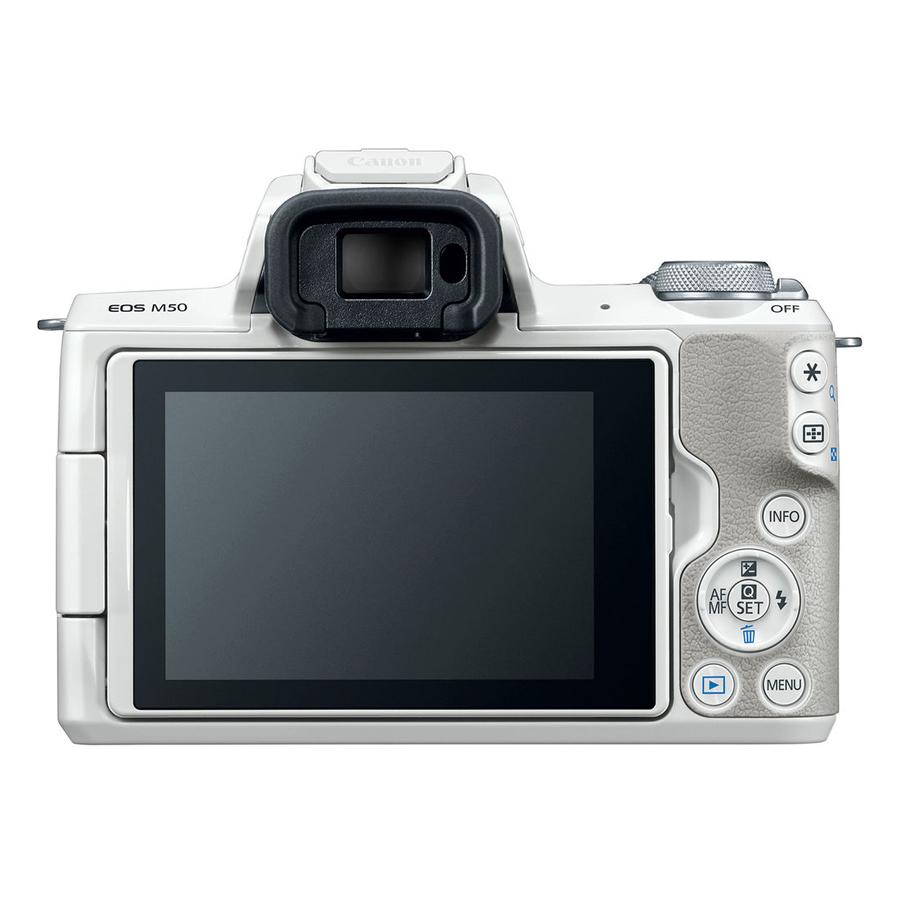 Máy Ảnh Canon EOS M50 + Kit 15-45mm (24.1MP) - Hàng Chính hãng