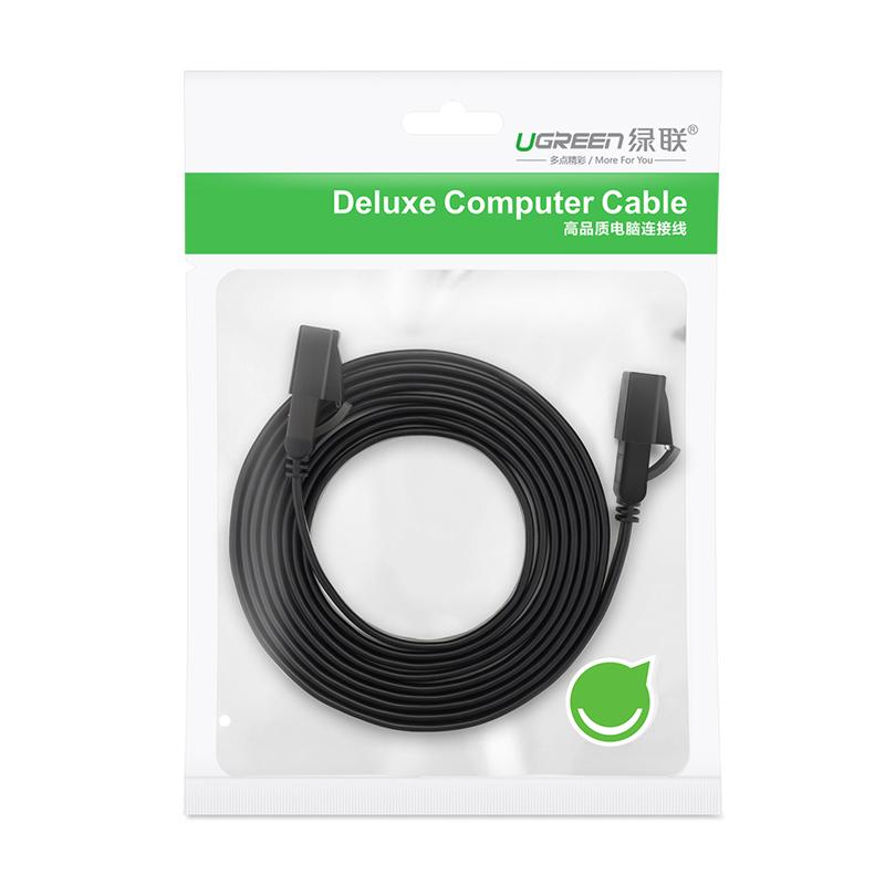 Cáp mạng 2 đầu đúc Cat7 UTP Patch Cords dạng dẹt dài 1M UGREEN NW106 11260 - Hàng chính hãng