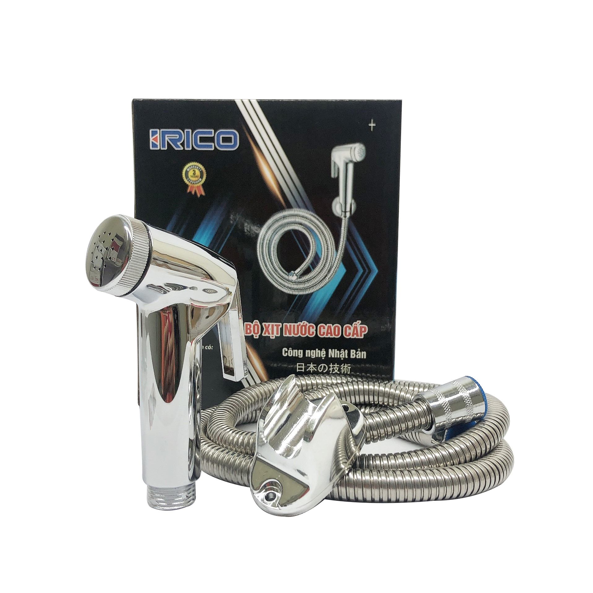 Vòi xịt vệ sinh inox - Vòi xịt bồn cầu inox SUS 304 cao cấp
