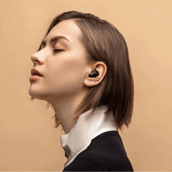 Tai nghe True Wireless Mi Earbuds Basic 2 bluetooth v5.0, nghe nhạc 4 giờ- Hàng chính hãng
