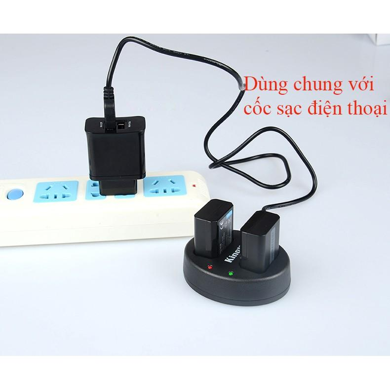 pin sạc Dual Battery Charger for NP-FW50