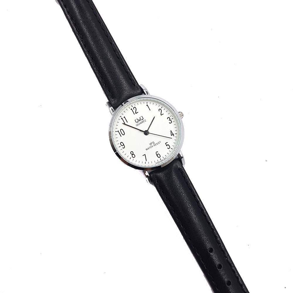 Đồng hồ nữ Q&Q Citizen QZ03J304Y dây da thương hiệu Nhật Bản