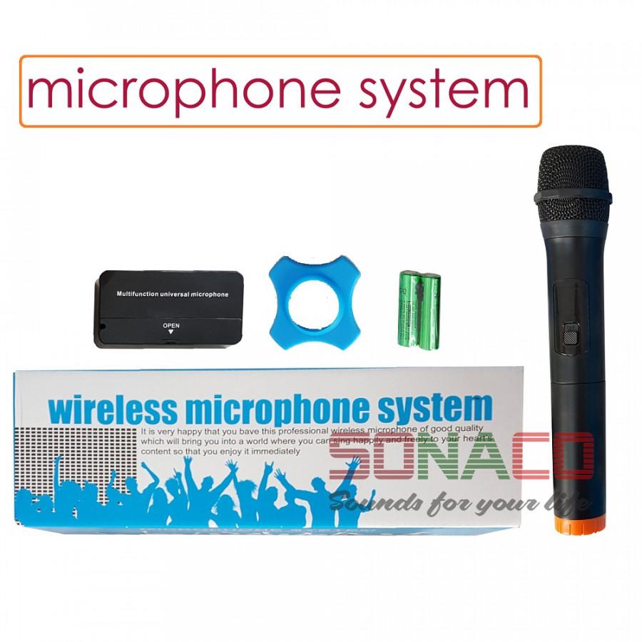 [CHÍNH HÃNG BH 12T] MICRO KHÔNG DÂY BNIB MICROPHONE  SYSTEM