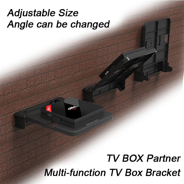 Bộ Giá Đỡ Treo Tường cho bộ định tuyến, bộ chuyển đổi tín hiệu, có sẵn ốc bắt tường, chắc chắn an toàn, bảo vệ khỏi bị va đập TVA00