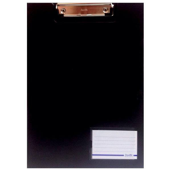 Bìa Trình Ký Bantex A4 Có Nắp 4240 10 - Màu Đen