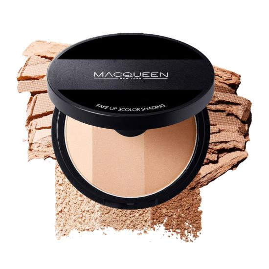Phấn Tạo Khối Macqueen Fake Up 3 Color Shading