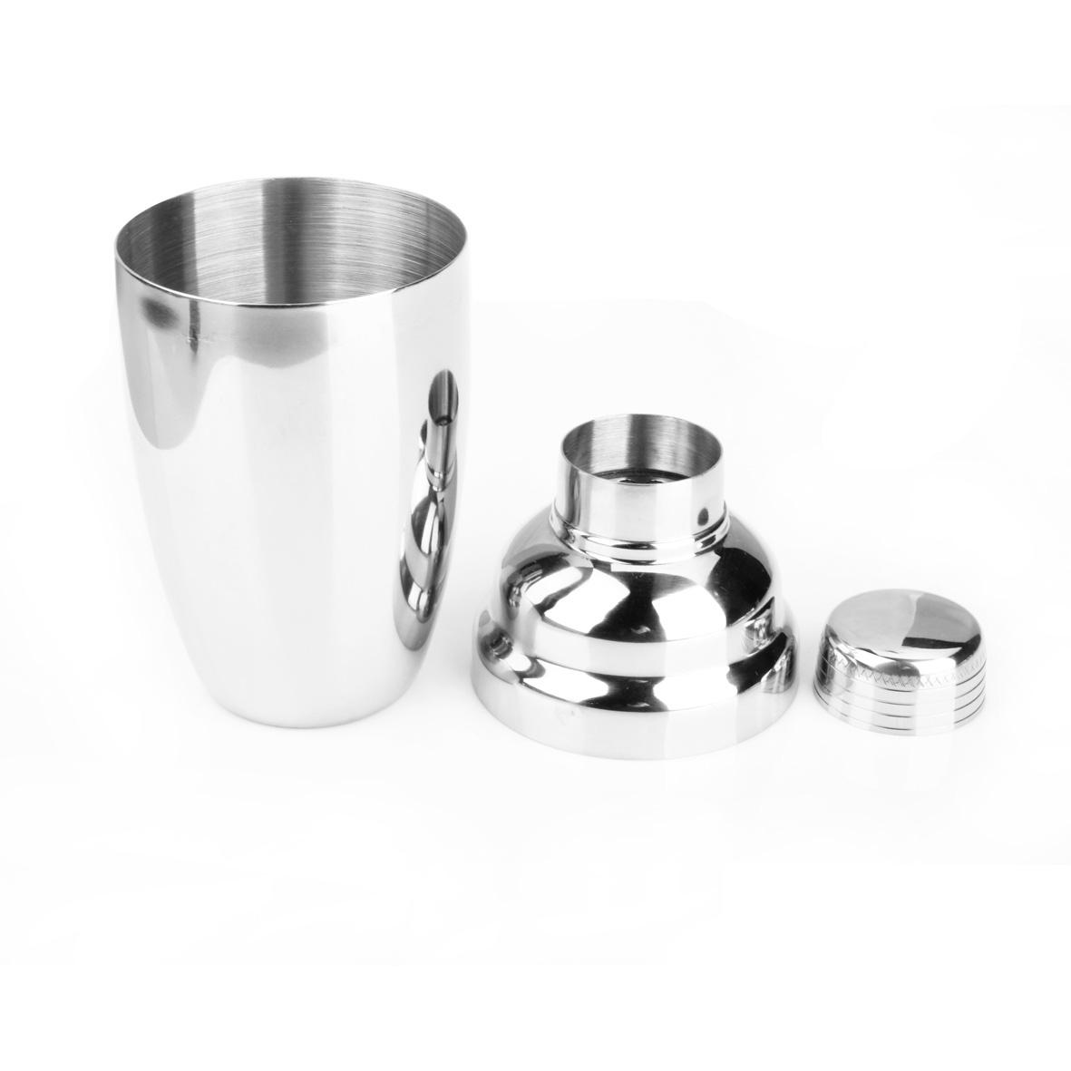 Bình lắc pha chế trà sữa và cocktail inox cao cấp size vừa PC01