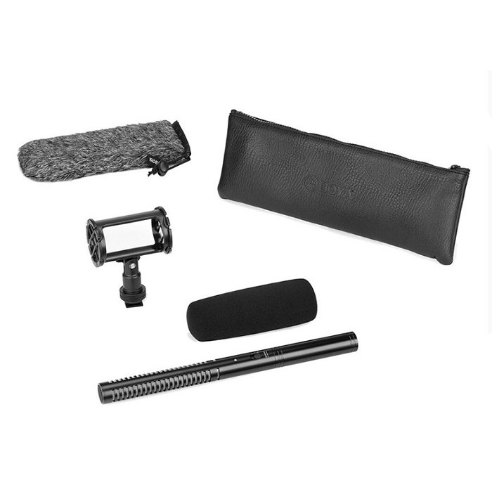 Micro thu âm shotgun BOYA BY-BM6060 hàng chính hãng.