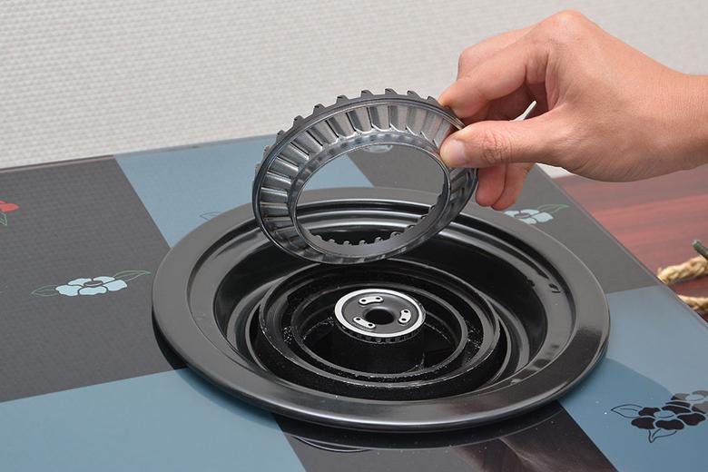 Bộ sen chia lửa đa năng, sử dụng cho dòng bếp Rinnai RV 6,7 SLIM( Mặt kính, mặt men)