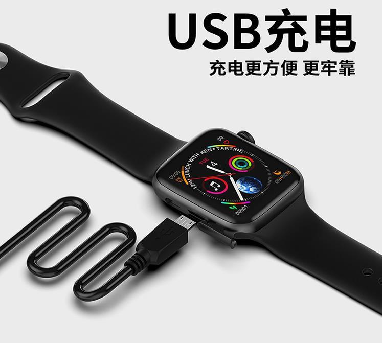 Đồng hồ thông minh W34 sê ri 4 kết nối bluetooth - Hàng nhập khẩu