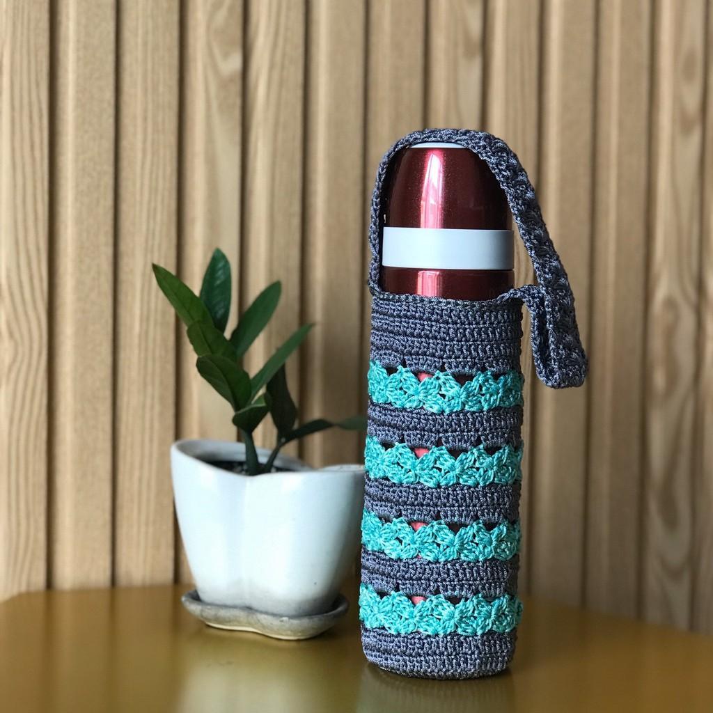 Túi Đựng Bình Giữ Nhiệt Móc handmade