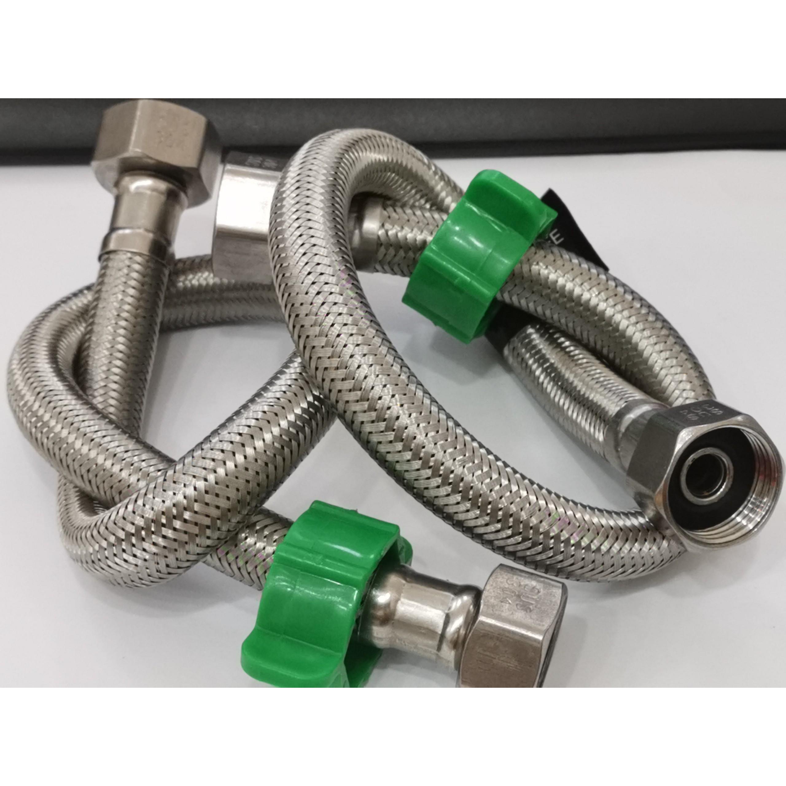 Bộ đôi dây cấp nước inox 304 dài 30 cm