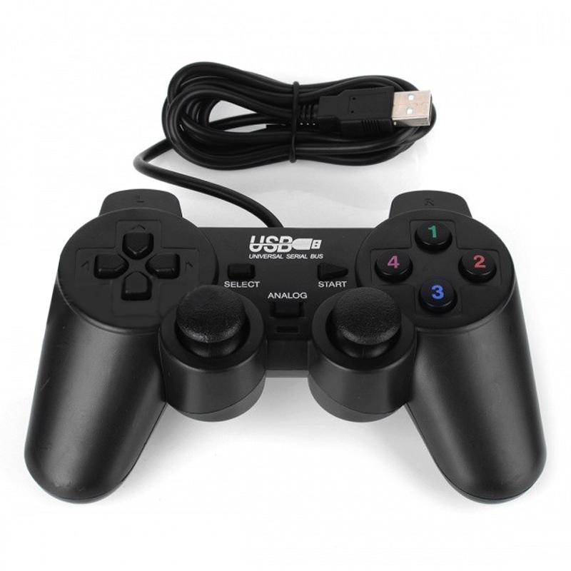 Tay Cầm Chơi Game Đơn Cho PC Vibration Joypad - Hàng Nhập Khẩu