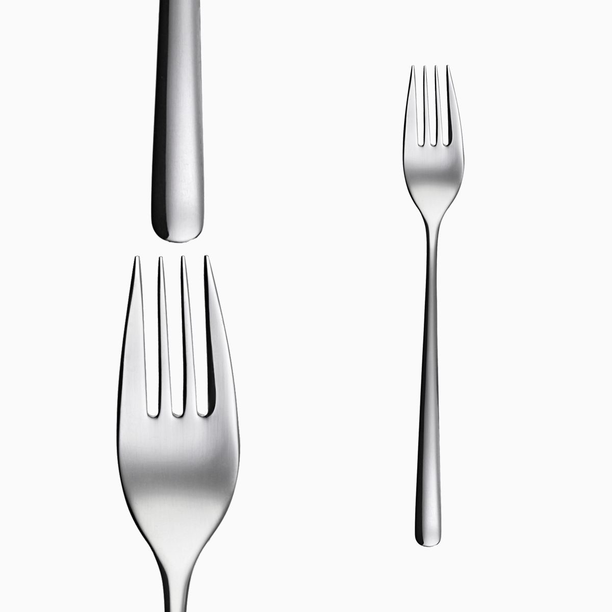 Bộ 6c Nĩa ăn Inox 304 (Set of 6pcs Table fork SS18/10) 106177