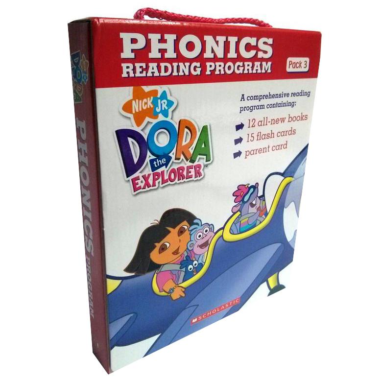 Dora The Explorer Phonics Boxset #3 With Cd