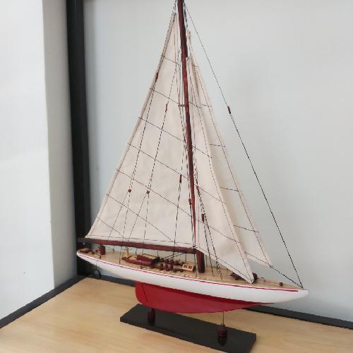 Mô Hình Du Thuyền Gỗ Endeavor Kích Thước Dài 50cm Cao 60cm Rộng 10cm