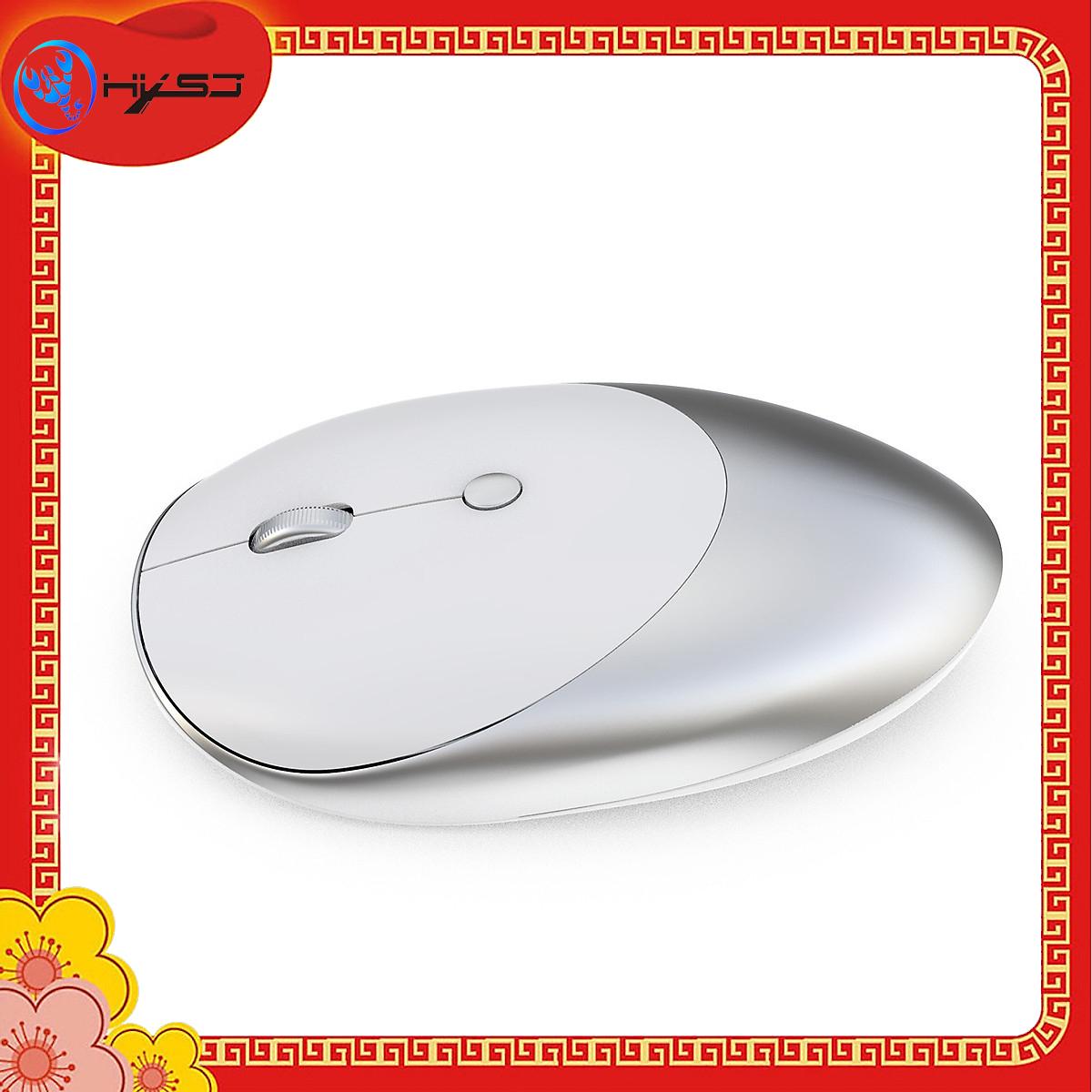 Chuột Bluetooth HXSJ T36 Ba Chế Độ Bluetooth 3.0 + 5.0 + 2.4G Chuột Không Dây Thiết Kế Không Gây Ồn 1600 DPI Quang Có Thể Sạc Lại Chuột Cho PC Máy Tính Xách Tay - Hàng chính hãng
