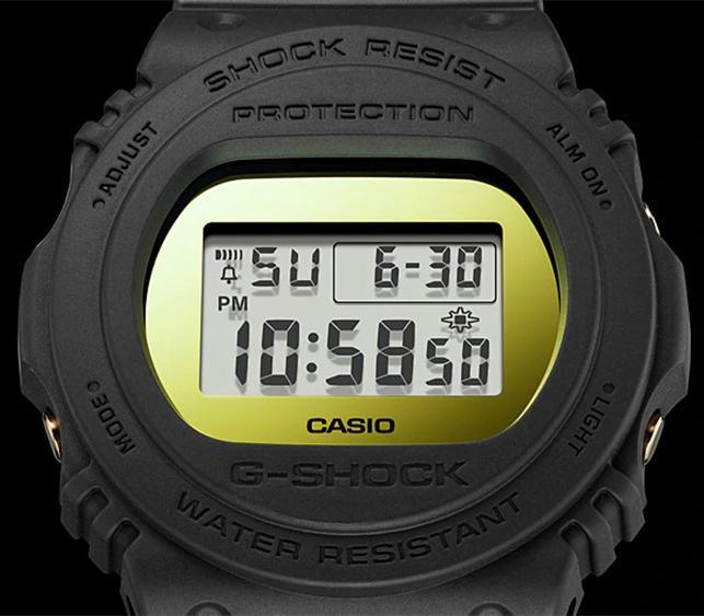Đông hồ Casio G-Shock Nam dây nhựa DW-5700BBMB-1DR