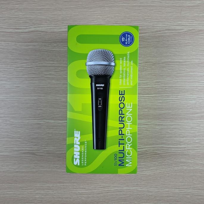 Micro Shure SV100-X chính hãng đẳng cấp