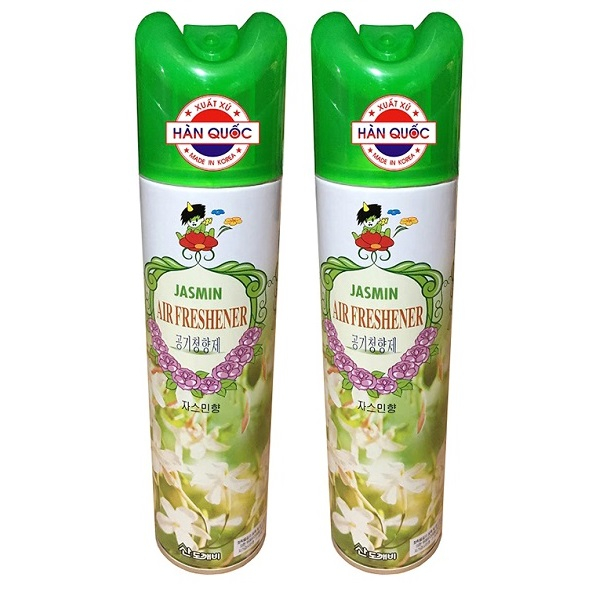Bộ 2 Chai Xịt Thơm Phòng Khử Mùi Đa Năng Hàn Quốc Hương Thiên Nhiên 370ml cho ô tô