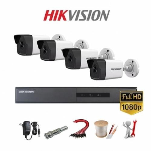 Trọn Bộ Kit Camera IP Hikvision NK42E0H-L Chính Hãng Tptechs