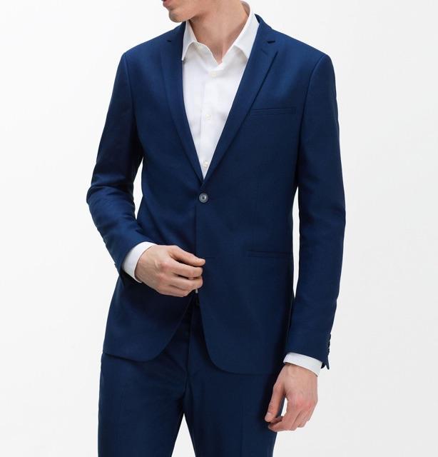 Vest đen và xanh than 2 khuy