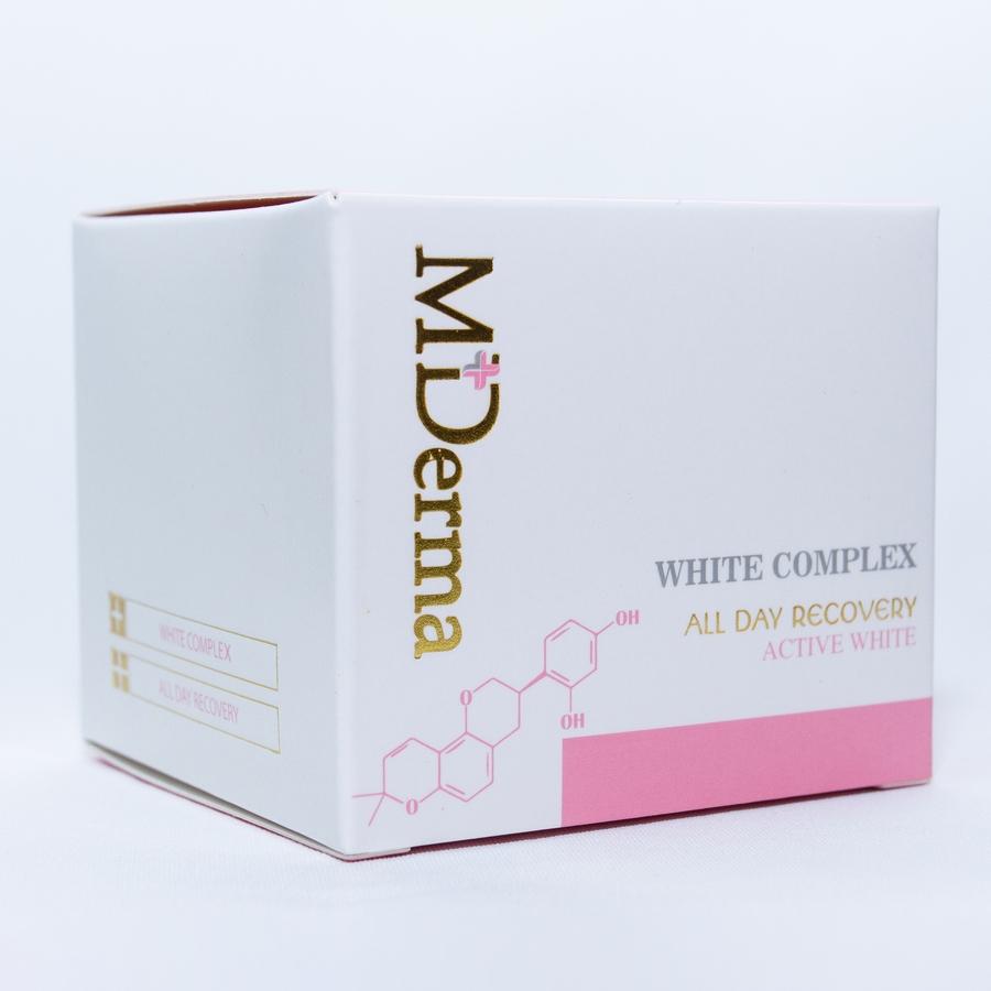Kem dưỡng trắng da MDerma Whitening Complex - 20gr - Trẻ trung xinh đẹp [Chính hãng]