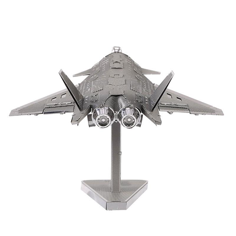 Mô hình thép 3D tự ráp cao cấp máy bay J20 JET