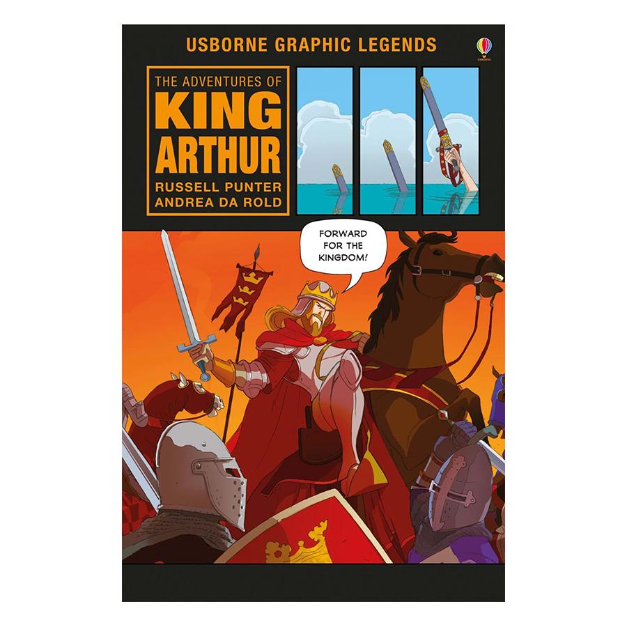 Usborne The Adventures of King Arthur