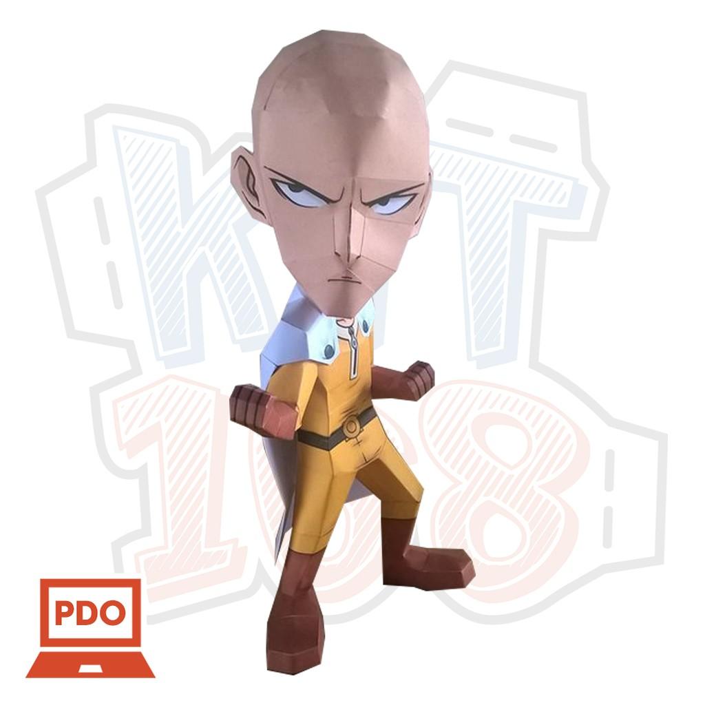 Mô hình giấy Anime Game Saitama - One-Punch Man