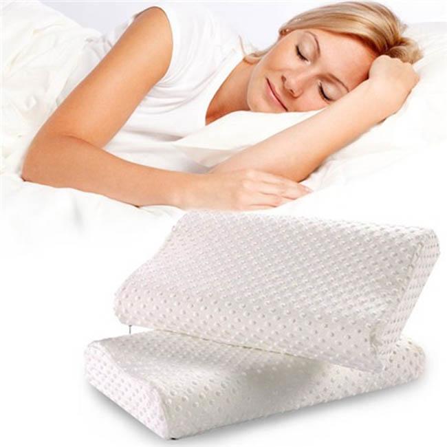 Gối chống ngáy ngủ và đau đốt sống cổ pillow