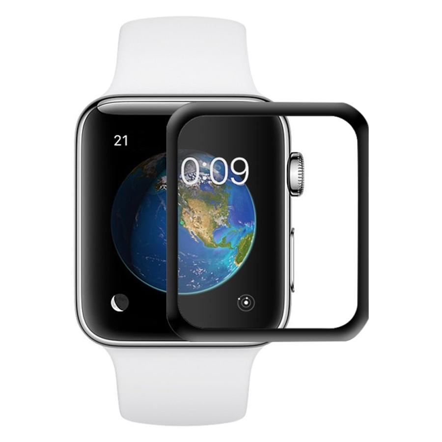 Miếng Dán Cường Lực 3D Cho Apple iWatch / Apple Watch 42 mm - Hàng Chính Hãng