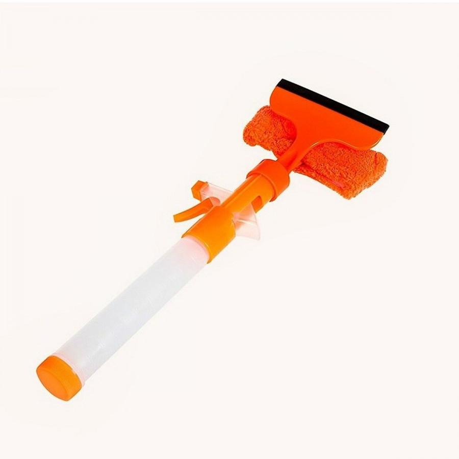 Cây lau kính thông minh 2in1 kèm bình xịt nước tiện dụng (màu ngẫu nhiên)
