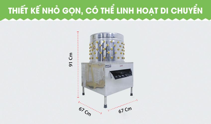 Máy Vặt, Nhổ Lông Gà Vịt Ngan NEWSUN 60 Cm - Hàng Chính Hãng
