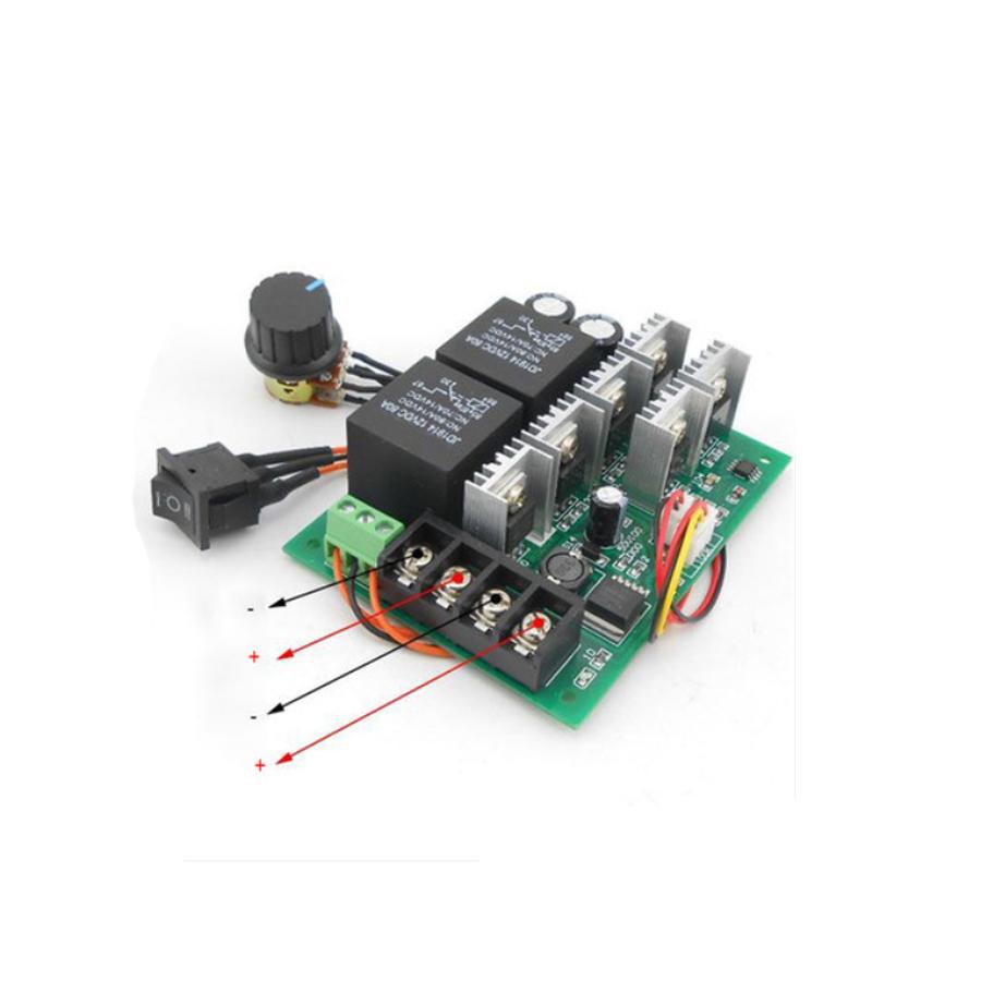 Module Điều Khiển Tốc Độ và Đảo Chiều Động Cơ 12V 36V 40A 2000W