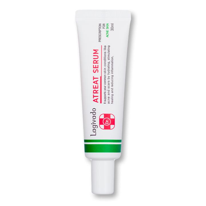 Tinh chất serum dưỡng da Hàn Quốc Lagivado giảm thâm, mờ sẹo, se khít lỗ chân lông Dr. ATreat Serum 30 ml