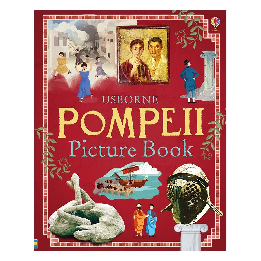 Usborne Pompeii Picture Book