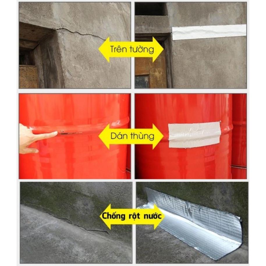 Băng keo chống thấm Cao cấp Bosui nhật bản siêu dính khổ 10cm x5m