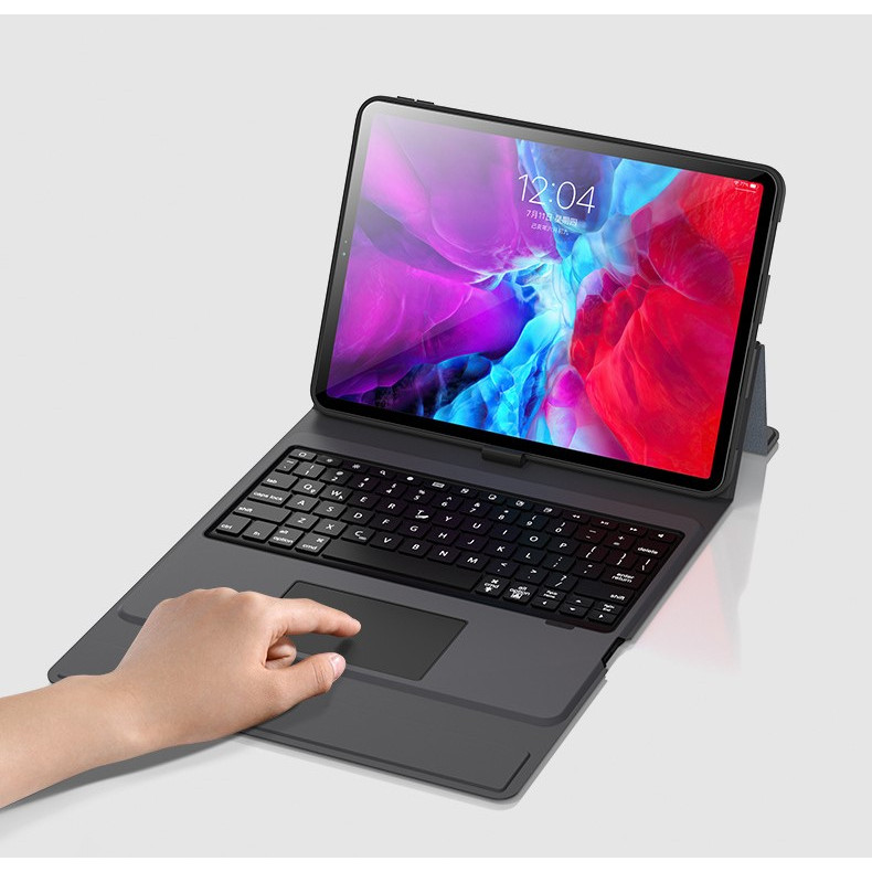 Bao da bàn phím dành cho iPad 9.7 inch - 7 màu đèn cho bàn phím - Có chuột cho bàn phím - Mẫu mới - Hàng chính hãng