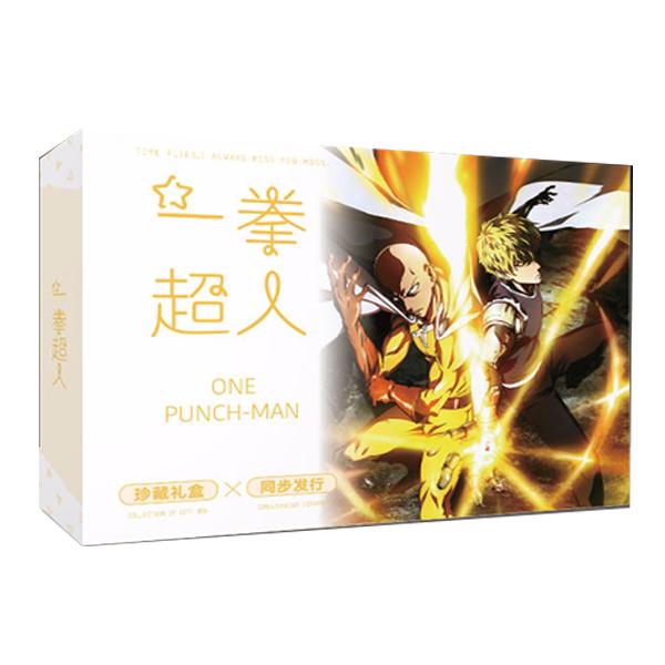 Hộp quà One punch man A5 bìa vàng Cú đấm hủy diệt
