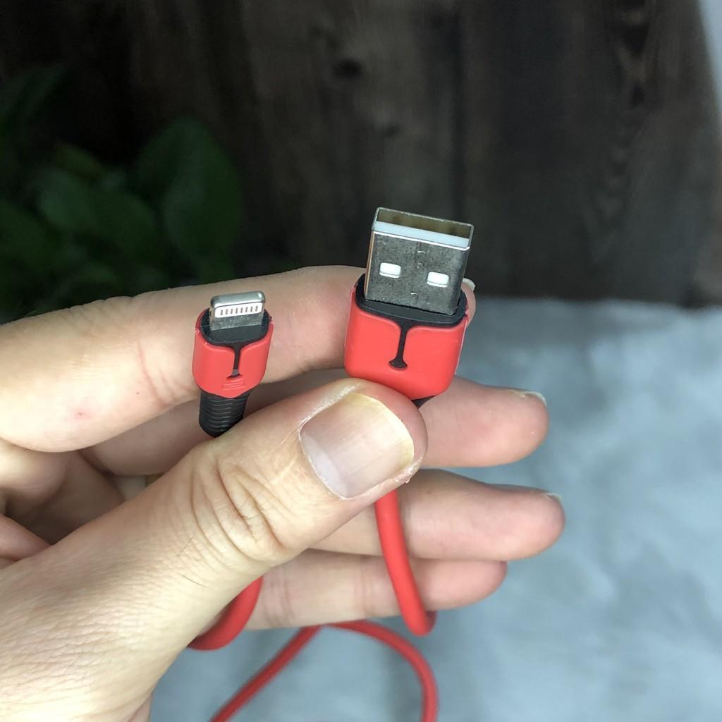 Cáp Sạc Nhanh Iphone Type-C Có Đèn Led Dài 1m