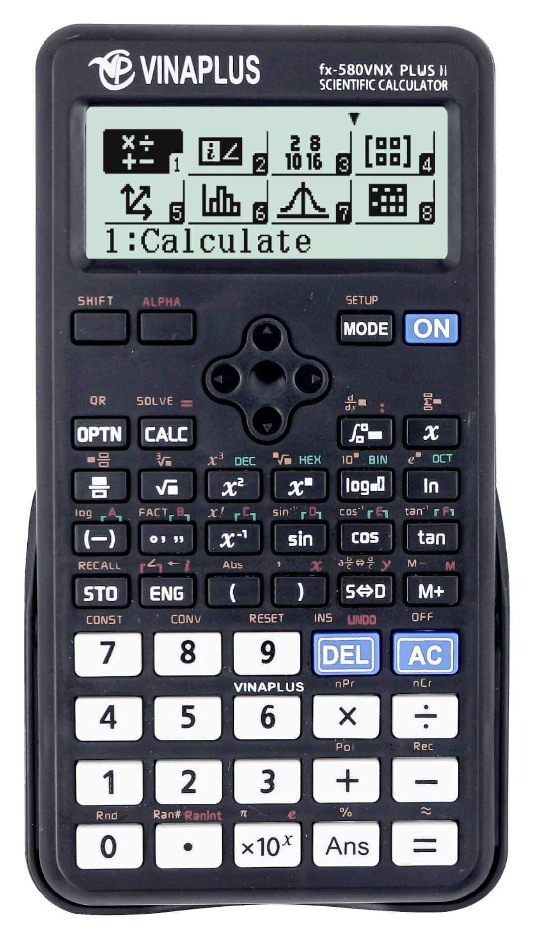 Máy tính fx-580VNX PLUS II